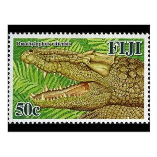 Reptile Stamp Postcard