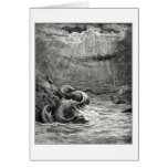 Reptile with spawn abundant, by Gustave Dore Card