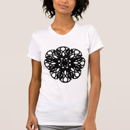 Reptilean Rose - Black T-Shirt
