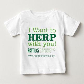 REPTILES Anniversary #1 Baby T-Shirt