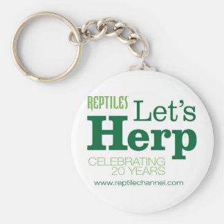 REPTILES Anniversary #2 Basic Round Button Keychain