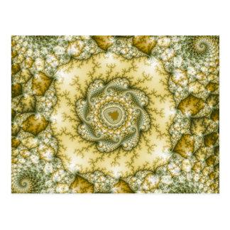Reptilian - arte del fractal postal
