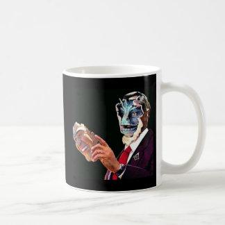 reptilian coffee mug