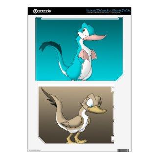 Reptilian Ducks Wii Skin
