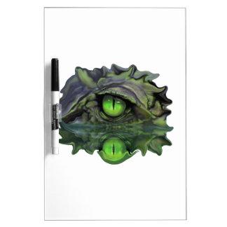 Reptilian Eye Dry Erase Board