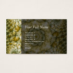 Reptilian - Fractal Art Business Card
