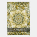 Reptilian - Fractal Art Hand Towel