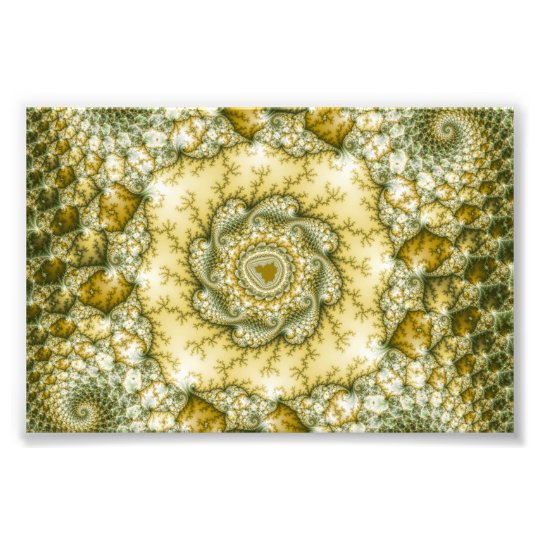 Reptilian - Fractal Art Photo Print