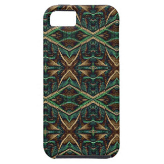 Reptilian Green and Brown iPhone 5 Case