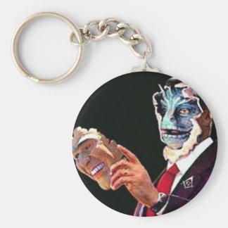 reptilian key chain
