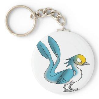 Reptilian Swallow Keychain keychain