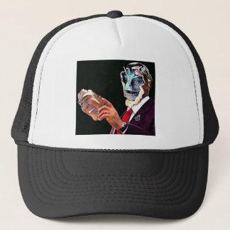 reptilian trucker hat