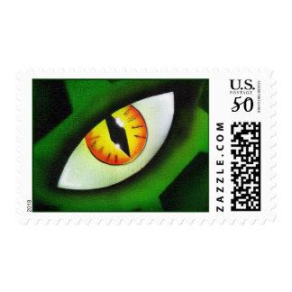 Reptilian Vision Postage