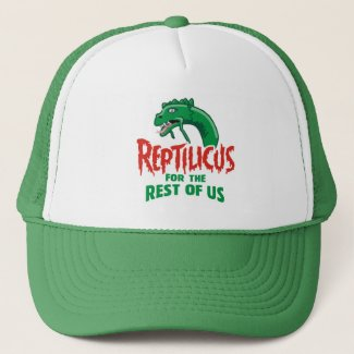 Reptilicus Day Trucker Hat