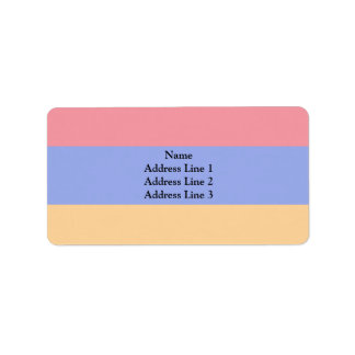 Repubblic Of Alba, Italy flag Personalized Address Labels