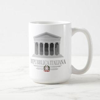 Repubblica Italiana (panteón) Taza De Café