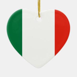 Repubblica Transpadana, Italy flag Ceramic Ornament