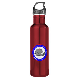 repubican chick water bottle