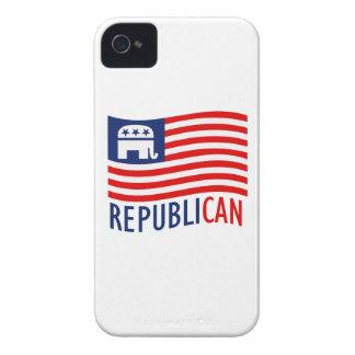 REPUBLI-CAN.png iPhone 4 Case-Mate Case