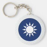 Republic China Coat of Arms detail Key Chains