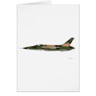 Republic F-105 Thunderchief Card