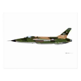 Republic F-105 Thunderchief Postcard
