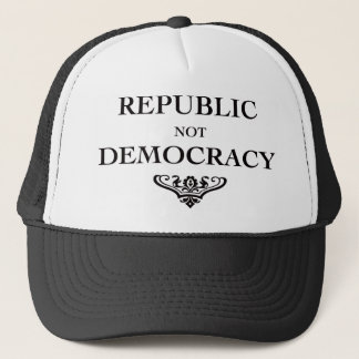 Republic not Democracy Trucker Hat
