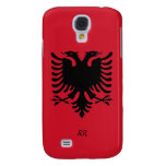 Republic of Albania Flag Eagle Galaxy S4 Case at Zazzle