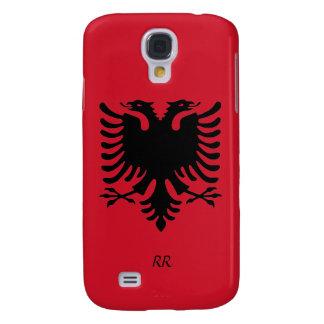 Republic of Albania Flag Eagle Galaxy S4 Case