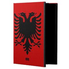 Republic Of Albania Flag Eagle Ipad Air Case at Zazzle