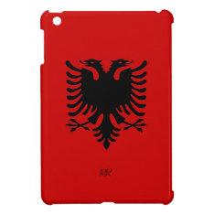 Republic Of Albania Flag Eagle Ipad Mini Case at Zazzle