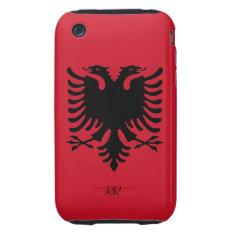 Republic Of Albania Flag Eagle Iphone 3g/3gs Tough Iphone 3 Tough Case at Zazzle