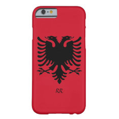Republic Of Albania Flag Eagle Iphone 6 Case at Zazzle