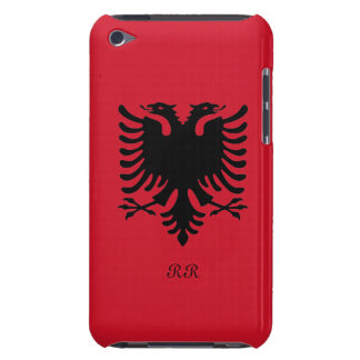 Republic of Albania Flag Eagle on iPod Touch 4G Barely There iPod Case
