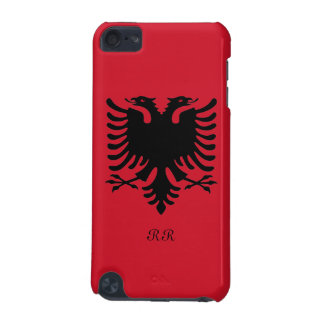 Republic of Albania Flag Eagle on iPod Touch 5G iPod Touch (5th Generation) Cover