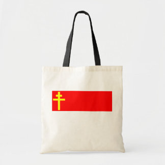 Republic Of Alsace Lorraine, France flag Canvas Bags