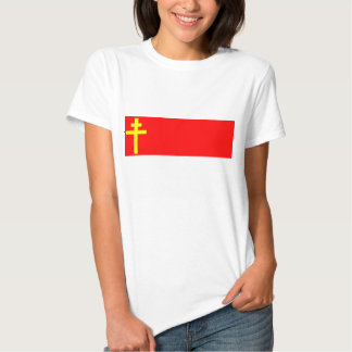 Republic Of Alsace Lorraine, France flag T Shirt