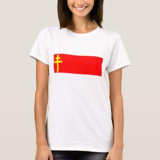 Republic Of Alsace Lorraine, France flag T-Shirt