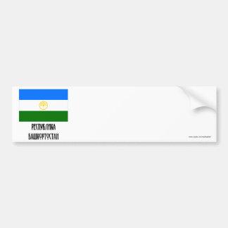 Republic of Bashkortostan Flag Bumper Sticker
