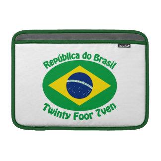 Republic Of Brazil - Twinty Foor 7ven MacBook Air Sleeves