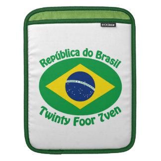 Republic Of Brazil - Twinty Foor 7ven Sleeve For iPads
