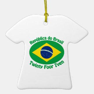 Republic Of Brazil - Twinty Foor 7ven Christmas Tree Ornaments