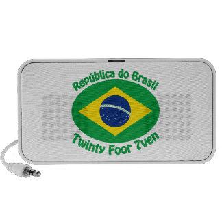 Republic Of Brazil - Twinty Foor 7ven Notebook Speaker