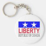 Republic of Canada Key Chain