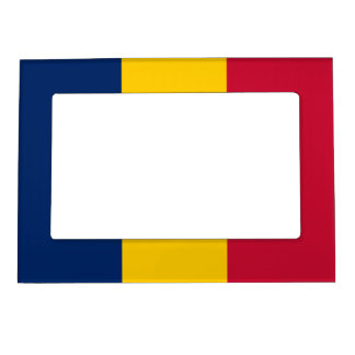 Republic of Chad – Chadian Flag Magnetic Picture Frame