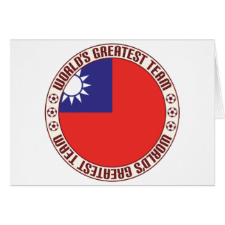 Republic of China Greatest Team Greeting Card