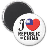 Republic of China Love Magnets
