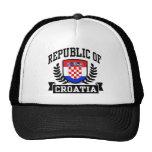 Republic of Croatia Trucker Hat