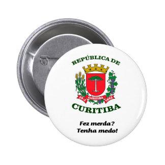 Republic of Curitiba Pinback Button
