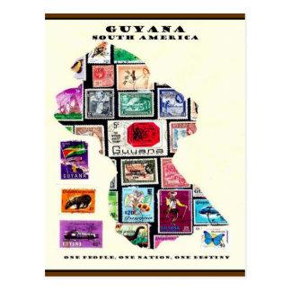 Republic of GUYANA Postcard